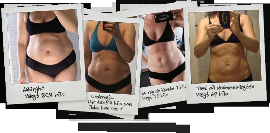 tab 5 kg på 2 uger